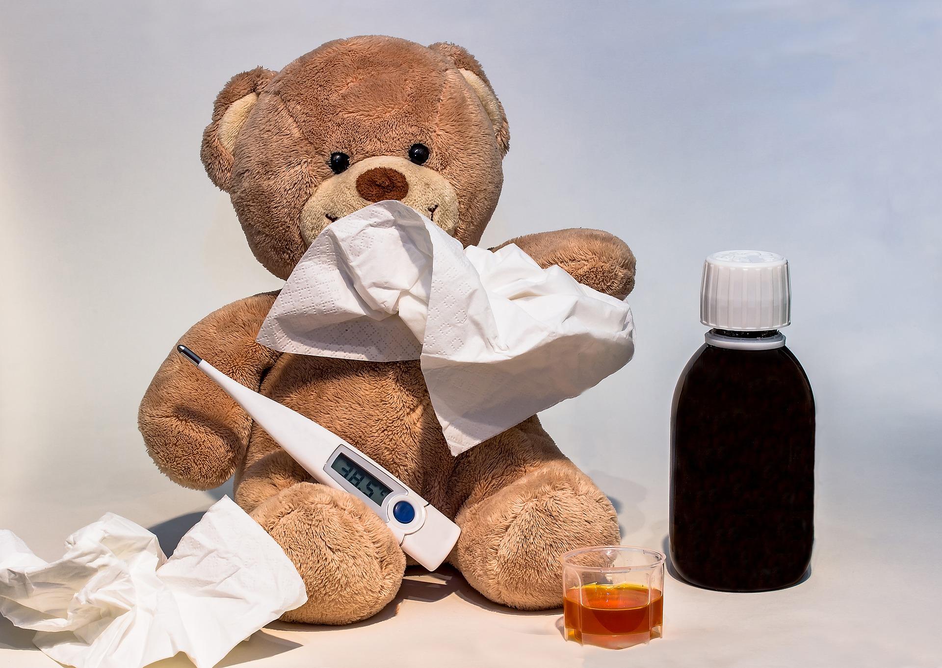Prehlada Temperatura djecja bolest